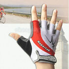 Red 2015 New Cycling Bike Bicycle Shockproof Wearable Sports Half Finger Glove