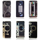 Retro Vintage Cassette Tape, BoomBox, Camera Case Cover for iPhone 5 5s