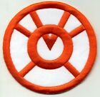 """2.5"""" Orange Lantern Corps Classic Style Embroidered Patch"""