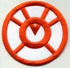 "2.5"" Orange Lantern Corps Classic Style Embroidered Patch"