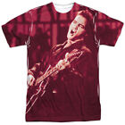 Elvis Presley Scratched '68 All Over Sublimation Licensed Adult T Shirt
