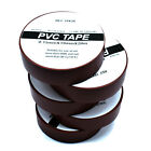 BROWN ELECTRICAL PVC INSULATION / INSULATING TAPE 19mm x 20m FLAME RETARDANT