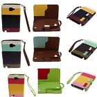 Colorful PU Leather Wallet Flip Pouch Case Cover Stand For Galaxy Note i9220 new