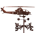 Hand Made COBRA HELICOPTER Weathervane ~NEW~