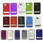 Mix Silicone Candy Case Hard Cover For HTC Thunderbolt 4G 6400 Verizon