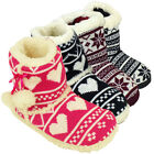 Womens Quality Eskimo Bootee Ankle Boot Slippers Ladies Furry Warm Slipper New