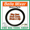 More images of BELLE MIXER RING GEAR MINIMIX 130 C / W DRUM COVER, RIVETS & CLIP