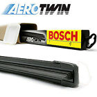 1x BOSCH Aero Aerotwin Retro Flat Windscreen Wiper Blade Upgrade (HOOK TYPE)