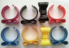 BOW BANGLE - BOW RING - Funky Acrylic Ribbon Cuff - Cool Funky Fashion Colours
