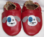 moxies baby shoes red leather shoes moxies chaussons en cuir rouge motif chien