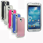 Luxury Brushed Aluminium Chrome Hard Case Cover For Samsung Galaxy S4 IV i9500