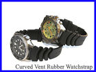 18mm 20mm 22mm Rubber Diver Watch Band Strap fits Seiko SKX 031 SKX781 SKX007