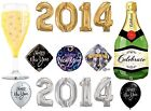 NEW YEARS (2014) Party Balloons - Foil & Latex - NYE Celebrations (Qualatex)