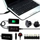 Universal Mains + Car Laptop Charger AC Power Adapter + USB For ASUS G75VW nMore