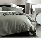 Deco Checkmate Charcoal Quilt Cover Set