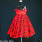3122 Reds Black Easter Christmas Wedding Girls Party Dresses AGE SZ  2-3-4-5-6Y
