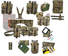 Large Lot of Web-Tex Official Crye Multicam  PLCE Webbing - Pouchs - MTP - etc