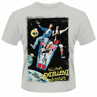 BILL AND TED'S EXCELLENT ADVENTURE Classic Film Poster T-SHIRT NEU Keanu Reeves