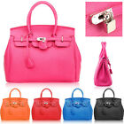 New Hollywood Star Designer Leather Satchels Ladies Tote Boston Purse Handbag