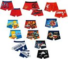 CHARACTER/FOOTBALL - BOYS TRUNKS(Pants/Underwear){Sizes from 18 months-10 years}