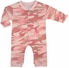 New Rothco 67059 Infant Toddler Pink Camo One Piece Long Sleeve Bodysuit