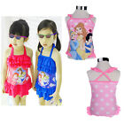 Fashion cute Baby kids Girls summer Swimsuit 2-6Y Princess Swimwear Beachwear