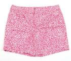 Jones New York Red & White Stretch Casual Shorts Womans NWT
