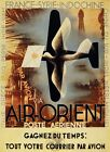 3072.Airplane over Orient.Travel France,Syria french POSTER.Home Room Art decor