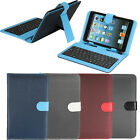 """Micro USB PU Leather Keyboard Case Cover Stand for 7""""inch Tablet PC MID PDA"""