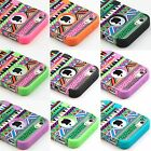 Hybrid Shockproof Dirt Proof Durable Rubber Case Cover For Apple iPhone 5S +Pen