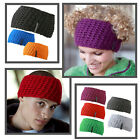 !MB SPORTS Crochet Strick Stirnband Beanie Mütze mit Innen Fleece handmade Tube