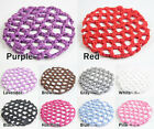 High Quality girls women Bun Cover Snood Hair Net Ballet Dance Skating Crochet