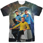 Star Trek Kirk Spock Mccoy Allover Sublimation Licensed Adult T Shirt on eBay