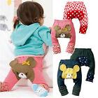 Cute Baby Toddler Infant Unisex Tights Leggings Trousers Leg Warmers Pants 6-24M
