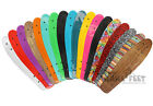 "EDGE Retro Skateboard DECK ONLY 22"" or 27"" Two Bare Feet Replacement Cruiser"