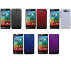 Hard Rubberized Matte Snap-On Slim Cover Case for Motorola Razr D3 XT919 XT920