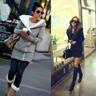 Women Thicken Long Sleeve Slim Hooded Hoodies Sweatshirt Jacket Coat Autumn