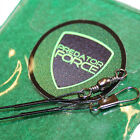 predator wire traces 15cm, 23cm or 30cm wire fishing lure traces spinning 30lb