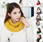 New Fashion Winter Korean Women Solid Color Scarf wool Scarf Knitted Scarf