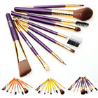 9pcs Makeup Brushes Kit Foundation Eyeshadow Lip Mascara Nose Make Up Brush Tool