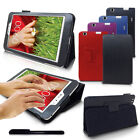 Slim Leather Smart Stand Case Cover For LG G Pad 8.3 With Stylus