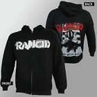 Authentic RANCID Band And Out Come The Wolves Zipup HOODIE S M L XL 2XL NEW