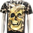b103 Survivor T-shirt M L XL XXL Tattoo STUD Skull Skeleton Dragon RYU Fatboy