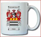 CLEMENTS (ENGLISH) COAT OF ARMS COFFEE MUG