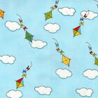 KITES - THE NEIGHBORHOOD FOR TIMELESS TREASURES MONICA LEE - 100% COTTON FABRIC