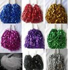 10 Pair  Cheerleader Pompoms Hen party Fancy Dress in Silver, Gold, Purple,Balck