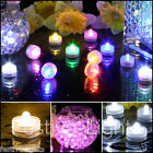SUBMERSIBLE BATTERY OPERATED LED TEA LIGHTS FLORAL VASE WATERPROOF WEDDING - 4