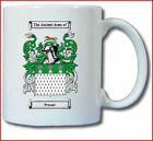 PROSSER COAT OF ARMS COFFEE MUG