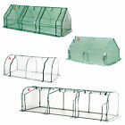 Polytunnel Greenhouse Poly Tunnel Green House Garden Planting Steel Frame 3 Size