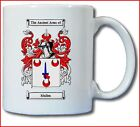 MULLEN (IRISH) COAT OF ARMS COFFEE MUG